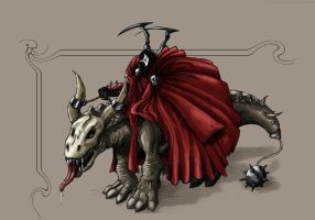 Spawn the medievil colored by Joey-B