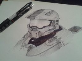 Masterchief (Game: Halo Combat Evolved) by Sakura813