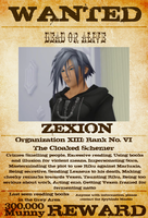 Wanted: Zexion by gttorres