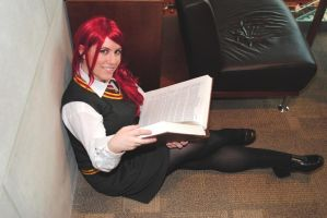 Studying by JadeKat-Cosplay