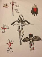 Mew Ivory Ref. by Winged-CatGirl-Kin