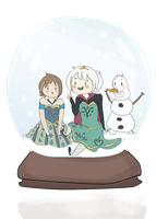 Frozen cristal ball by ImHappyWithYou