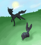 Springs Challange -  Grystol and Lacius by AliceTheHunted