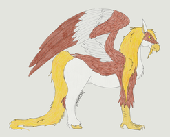 Hippogriff by fableworld