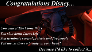 Bane's Angry at Disney by JessicaBane501
