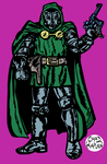 Doctor Doom by LeevanCleefIII