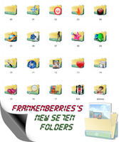 My New 7 Folders by FrankenBerries
