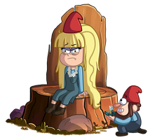 The Gnome Queen by TheCheeseburger