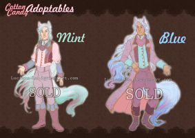 Adoptables: Cotton Candy (CLOSED) by Luciana-Lu