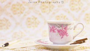 One Cup of Calm by Zayoon