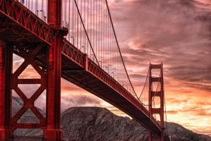 Golden Gate, symbol by alierturk
