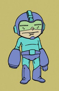 old megaman drawing by jolimint