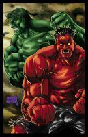 Hulks smash!!!! colored by hanzozuken