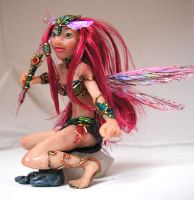 OOAK Dragonfly Fairy Doll by Namingway