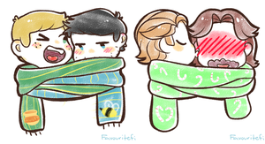 SPN Scarves by favouritefi
