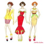 Fast Food Fashion: McDonald's by nabilaclydea
