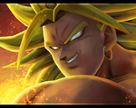 El-Legendario-Super-Sayayin by NARUTO999-BY-ROKER