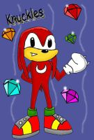 Knuckles SA styles colour by hero-of-time