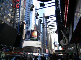 Streets in Times Square by hcisme123