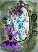Through the broken glass by The-Girlwith-Glasses