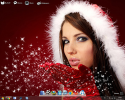 Christmas Desktop by h0userche