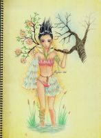 Tierra the Earth Goddess by artemiscrow