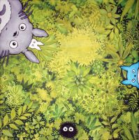 Totoro's forest by Sigyn85