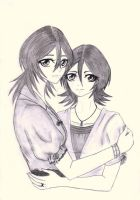 Sisterhood - Rukia and Hisana by AngyValentine