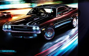 Dodge Challenger wallpaper by Flameks