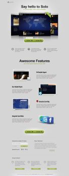 Promo Landing Page Template by pixelentity