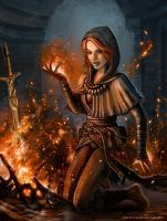 DS Play With Bonfires by SirTiefling