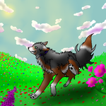 Field of wildflowers - AT- by Kitsunesprite