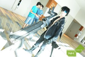 Male! Black Rock Shooter: The Game cosplay 2 by freetarded