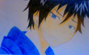 Rin from Blue Exorcist (Request) by AniMaymay