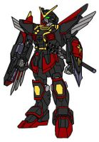 Samurai Blitz Gundam by Nightwing03