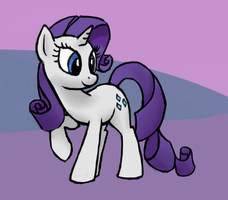 Rarity by Bill-the-Pony