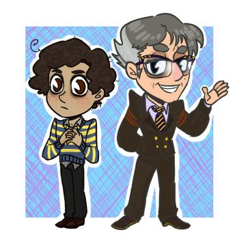 {TSP} The Narrator and Stanley by Esferu