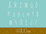 Silici font by indieferdie
