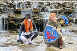 Link and Midna by Bodatheyoda