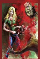 ERica The Zombie Slayer by Spungle