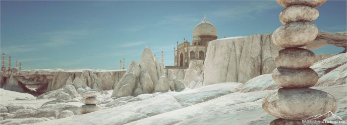 The Marble Palace by 3DLandscapeArtist