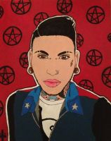 Jayy Von Monroe Painting by bewitchedgirl