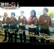 Attack on Titan | Attack on EXPO by chyphens