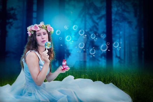 Dream Girl-photomanipulation-photoshopcc-graphicst by graphicstute