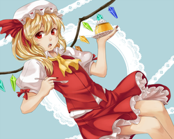 Flanflan-chan by AliceTheBRabbit