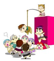 Rosario Vampire Chibi Collection by Puffypaw
