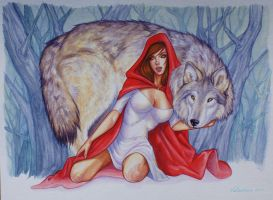 Red Riding Hood by tempestsreign
