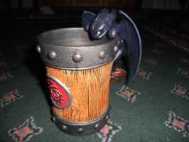 How to Train Your Dragon: Toothless Mug by Super3dcow