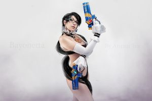 \Naked Bayonetta 2 by arienai-ten