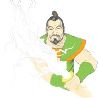 Samurai from the Super Friends by tvfunnyman